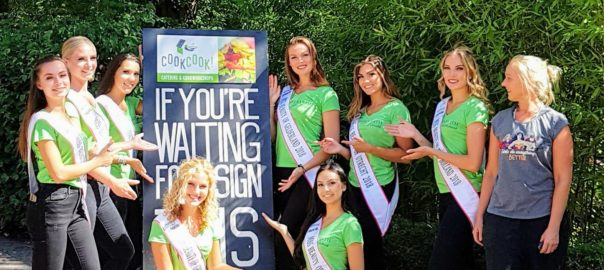 De missen van miss beauty of the netherlands kwamen vegan scrumkoken bij CookCooK!